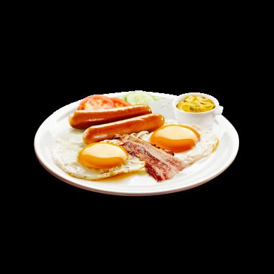 Jaja na oko i slanina