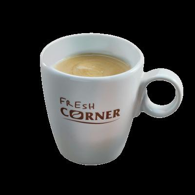 Produženi espresso sa hladnim mlekom