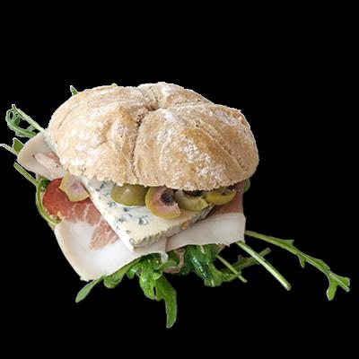 Sendvič  pršuta - gorgonzola